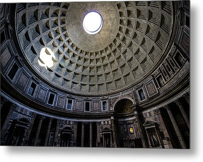 Metal Print featuring the photograph Pantheon by Nicklas Gustafsson