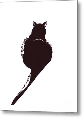 Panther  Metal Print by Rachel Lowry