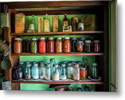 Metal Print featuring the photograph Pantry by Paul Freidlund