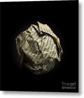 Paper Metal Print by Bernard Jaubert