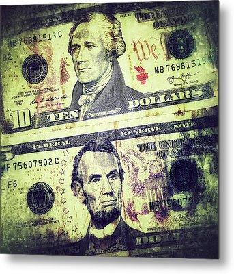 Paper. Money Metal Print