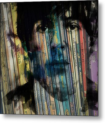 Paperback Writer Metal Print by Paul Lovering