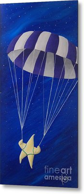 Para-shooting Star Metal Print by Kerri Ertman