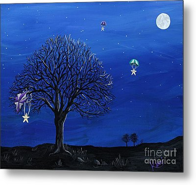 Para-shooting Star Trio Metal Print by Kerri Ertman