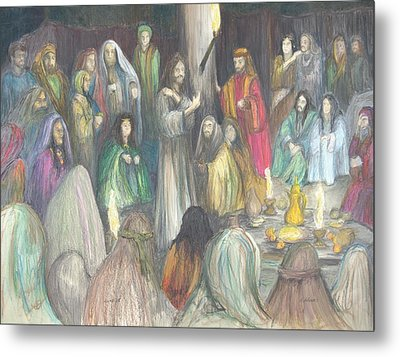 Parables Metal Print by Rick Ahlvers