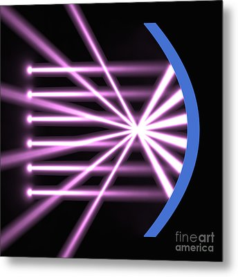 Metal Print featuring the digital art Parabolic Reflector 2 by Russell Kightley