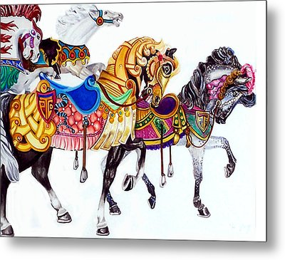 Parade Metal Print by Bette Gray