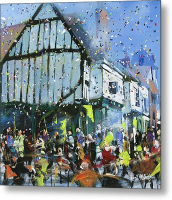 Parade In York Metal Print