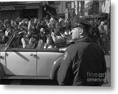 Parade Security Metal Print by Clarence Holmes