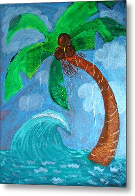 Paradise Metal Print by Amy Parker