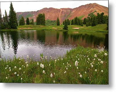 Metal Print featuring the photograph Paradise Basin by Steve Stuller