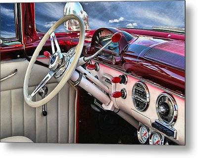 Paradise By The Dashboard Light .... Metal Print by Rat Rod Studios