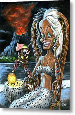 Paradise De Vil Metal Print by Mark Tavares