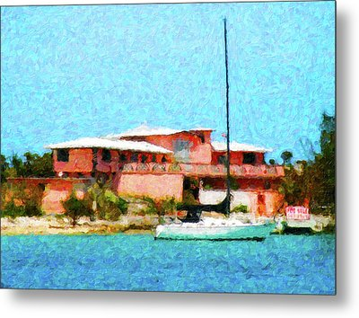 Paradise For Sale Metal Print