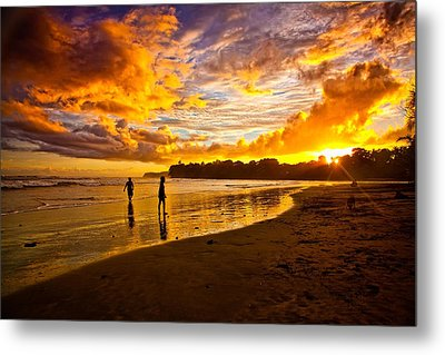 Paradise Metal Print by Iris Greenwell