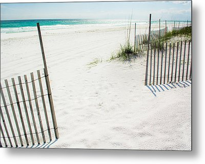 Paradise Scenery Metal Print by Shelby  Young