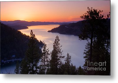 Paradise View Metal Print by Idaho Scenic Images Linda Lantzy