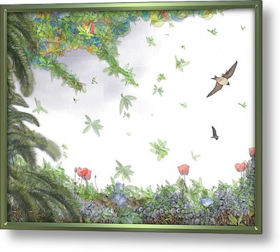 Paradise Without War Metal Print by RSVPalmer