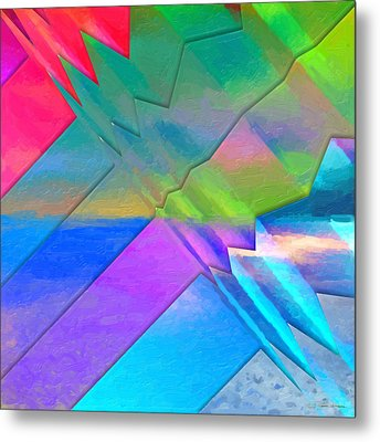 Parallel Dimensions - The Multiverse Metal Print by Serge Averbukh
