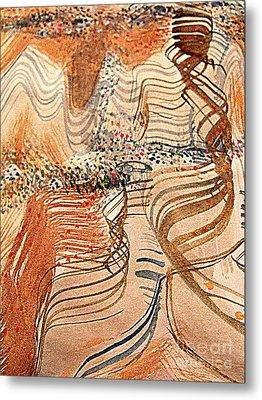 Parallel Parade 4 Metal Print by Nancy Kane Chapman