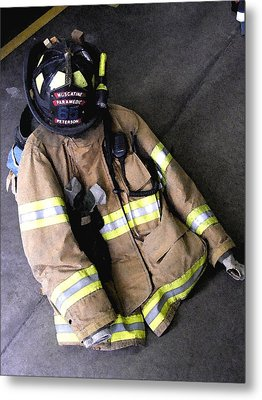 Paramedic Rescue Metal Print by Jame Hayes