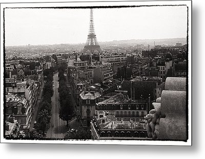 Paris 1966 Metal Print by Steve Archbold