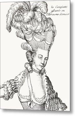 Paris Fashion, 1776 Metal Print
