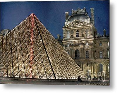 Paris Louvre Metal Print by Juli Scalzi