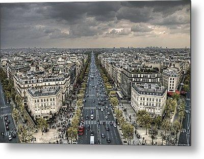 Paris No. 3 Metal Print
