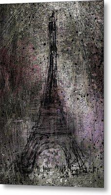 Paris Metal Print by Rachel Christine Nowicki
