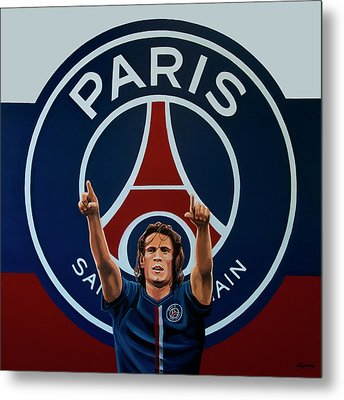 Paris Saint Germain Painting Metal Print