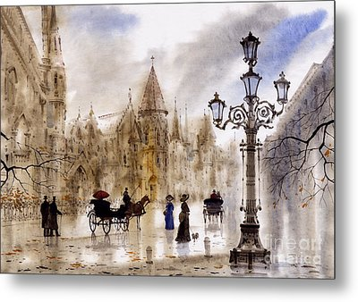 Paris Metal Print by Svetlana and Sabir Gadghievs