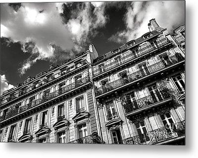 Parisian Buildings Metal Print by Olivier Le Queinec