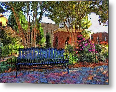 Park On Main Metal Print by HH Photography of Florida