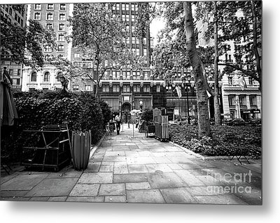 Metal Print featuring the photograph Park Patrol by John Rizzuto