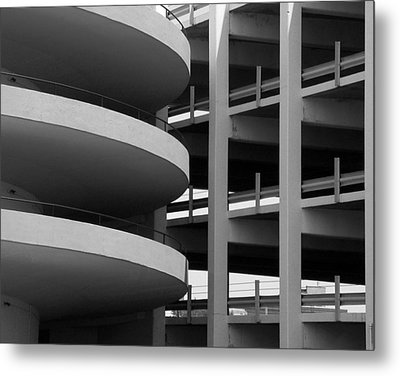 Parking Garage Metal Print by David April