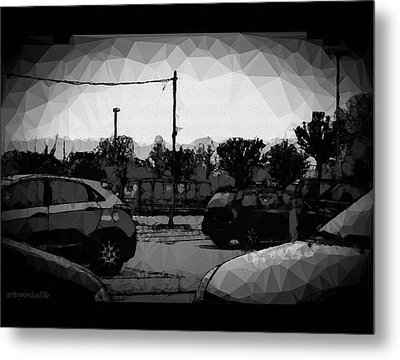 Metal Print featuring the photograph Parking by Mimulux patricia no No