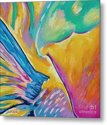 Parrotfish 1  Square Metal Print