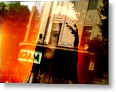 Part Of Your Life But You Never See Me Metal Print by Jez C Self
