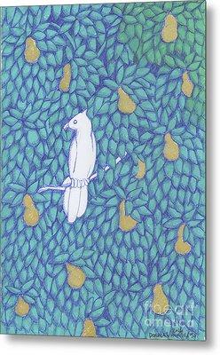 Partridge Pear Tree Metal Print