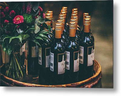 Party Metal Print by Happy Home Artistry