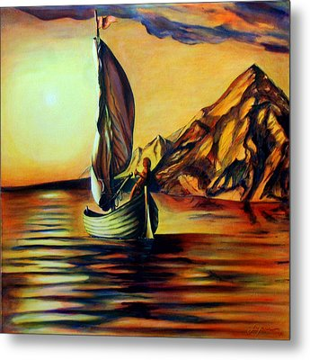 Passage- The Journey Home Metal Print