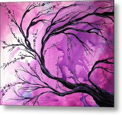 Passage Through Time By Madart Metal Print by Megan Duncanson