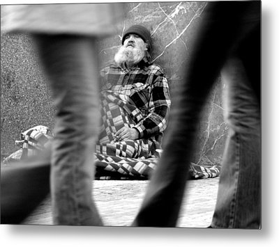 Passersby Metal Print by Todd Fox