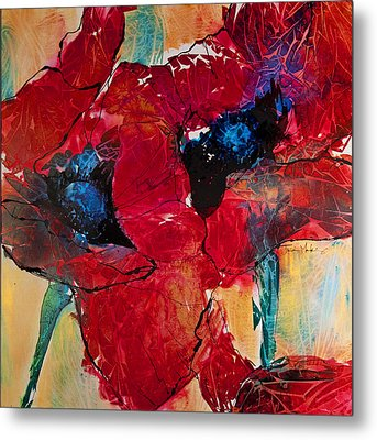 Passion I Metal Print by Trish McKinney