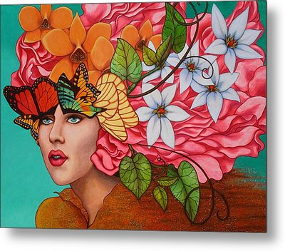 Passionate Pursuit Metal Print by Helena Rose