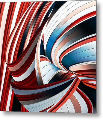 Passione Annodata Metal Print by Gilbert Claes