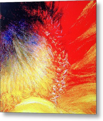 Passions From Within Metal Print by Antonia Citrino
