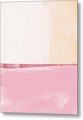 Pastel Landscape Metal Print by Linda Woods
