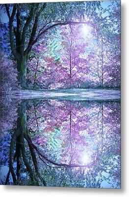 Pastel Reflections Metal Print by Tara Turner